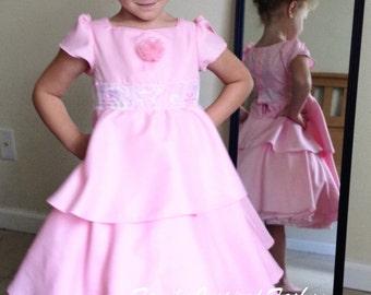 Girls Easter dress, flower girl dress, christening gown
