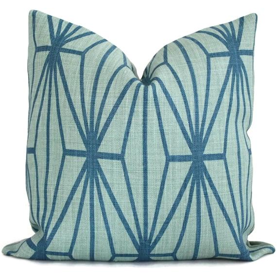 Lee Jofa Groundworks Katana Trellis Pillow Cover Square, Euro or Lumbar Pillow, Throw Pillow, Accent Pillow, Toss Pillow