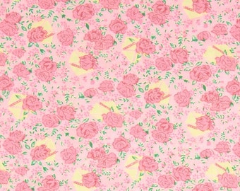 78074 - Verna Mosquera Snapshot collection Rosebuds in Slipper  PWVM116 - 1 yard