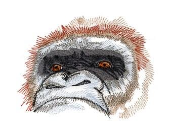 Gorilla Eyes Embroidered Flour Sack Hand/Dish Towel