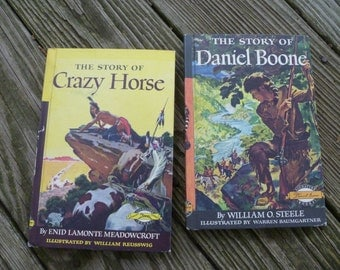 The Story of Daniel Boone and Crazy Horse, 1950's