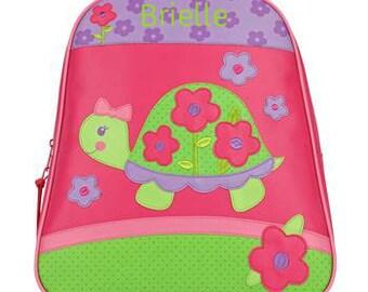 Personalized Backpack Stephen Joseph GoGo Bag Turtle NEW