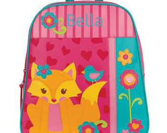 Personalized Girls Backpack Stephen Joseph GoGo Fox