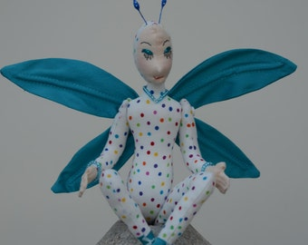 Fairy Art Doll, OOAK, Dottie