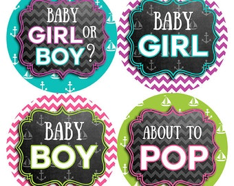 FREE GIFT Pregnancy Stickers, Weekly Pregnancy Stickers, Pregnancy Stickers, Pregnancy Belly Stickers, Teal, Pink, Purple, Lime, Nautical