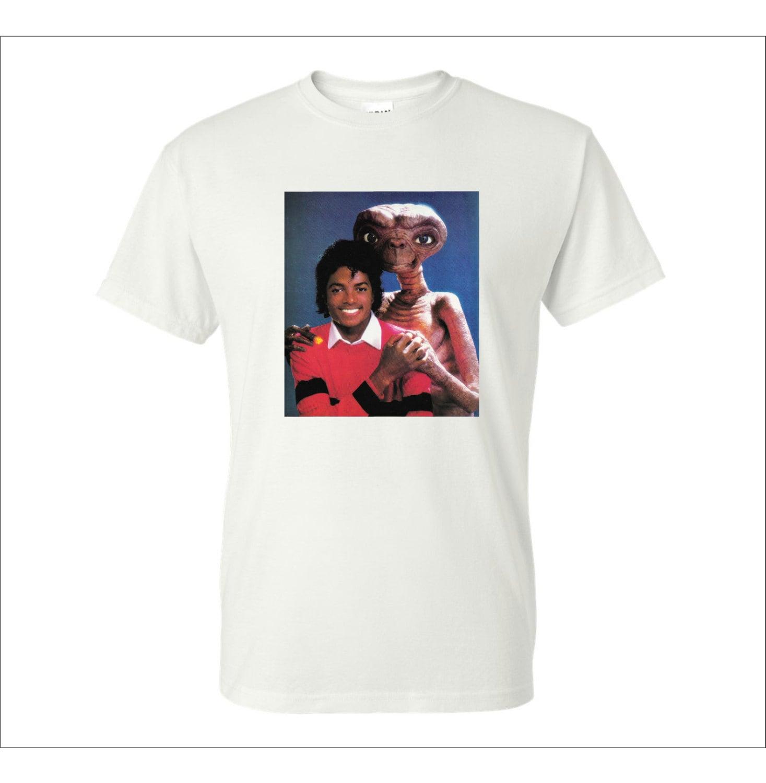 Michael Jackson and ET t shirt