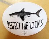 Shark Sticker, pack of 10