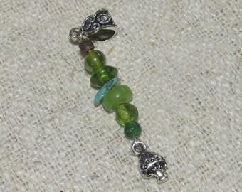 Dreadlock Bead Toadstool Dangle Dread Bead Bohemian Dreadlock Jewelry Jewellery Wrap Beads Tribal Hippie Hippy Festival Boho Hair