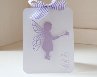 Fairy Garden Party Birthday Party Baby Shower Lavender and Kraft