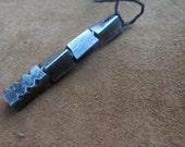 Twisted Dragon Tooth Pendant/Pendulum, Blacksmith Hand Forged (Small)