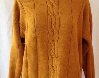 Grunge sweater dress