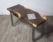YOUR CUSTOM Bastogne Walnut DESK - Natural - Rustic - Modern