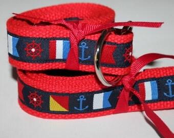 Nautical Flag Belt Boys and Girls Kids Belts
