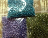 Garden Colored Seed Bead Collection #42