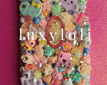 Kawaii Pastels iPhone 6 6s Plus Decoden Phone Case