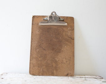 Long Wooden Vintage Wood Clipboard