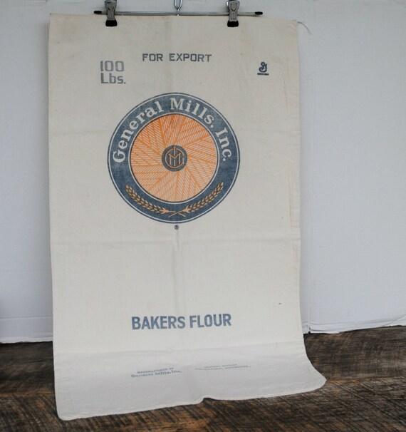 Midget mills flour sack