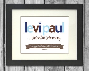 Personalized Name Print