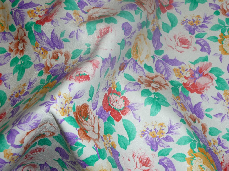 White lambskin apron - Leather 8 X10 Grandmas Apron Flowers On White Lambskin 1 5 2 Oz 6 8 Mm Peggysuealso