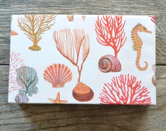 Coral Reef Nautical Wrapping Paper, 2 Feet x 10 Feet