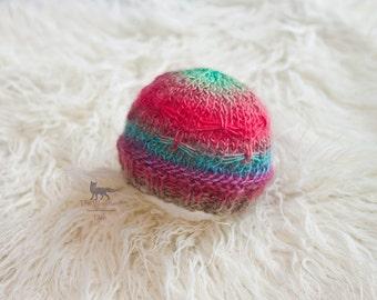 Knit Newborn Butterfly Beanie