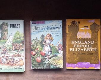 Vintage (3) Whimsy Mid Century Children's Books