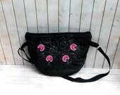 travel bag weekender bag, overnight bag, traveller, large woman messenger bag, zipper tote, embroidered tote