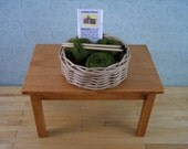 miniature knitting basket