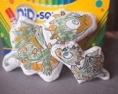 DoodleIts - Doodle It - Dragon - Washable Softie - Plushie