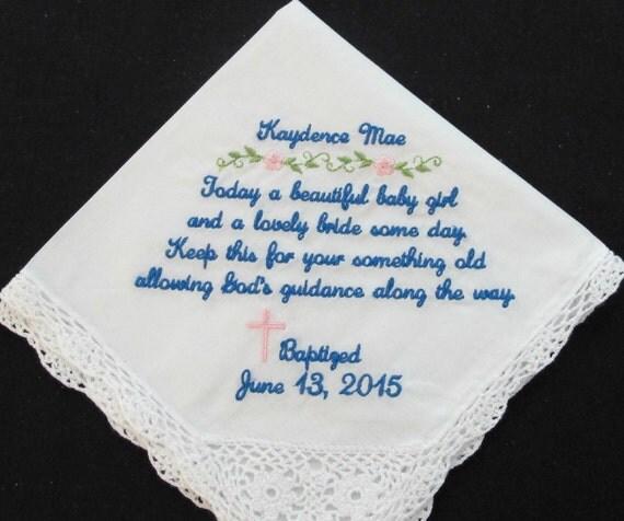 Embroidered Sacramental Handkerchief