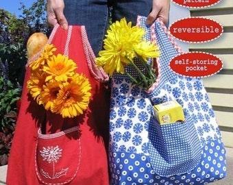 PAPER PATTERN - Annika Market Bag Pattern