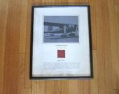 Historic Aviation, Aviation Art, Fabric from Amelia Earhart's Lockheed Vega 5B, Aviation Memorabilia