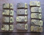 13 Vintage Cub Scouts of America Solid Brass Belt Buckles