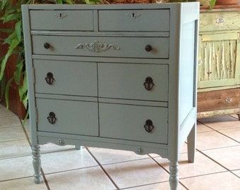 Antique Dresser BATH VANITY CABINET We Custom Convert from an Antique Dresser For Your Victorian Farmhouse Renovation