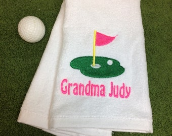 Golf, custom Personalized, golf towels, Fast turnaround, golf gift, monogrammed towels, groomsmen gift, wedding favors,