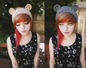 Osito - Handmade Crochet Bear Ear Headband