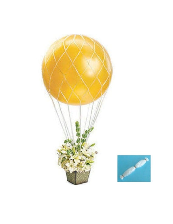 Balloon nets for 36 inch round balloons hot air balloon net for Balloon nets for centerpieces
