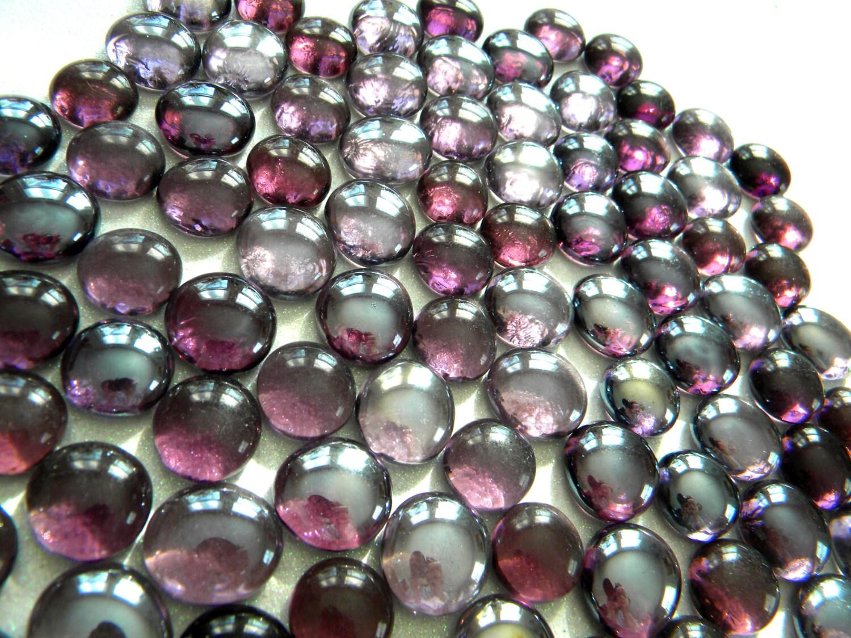 50 glass gems light dark transparent grape purple mosaic 349 reviewsmspy