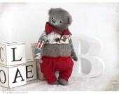 Bear Teddy William 10 inch OOAK
