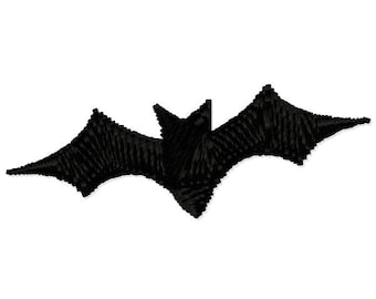 Small Halloween Bat Embroidery Design - Instant Download
