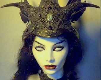 Elven Witch..Helm & collar