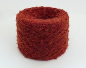 Yarn Small Loop Wool Boucle 1 Ball Blue Green or Burnt Orange