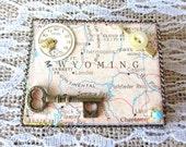Wonderful Wyoming State Brooch