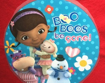 Doc mcstuffins Iron-On Heat Transfer ~~Decorate all the clothing ,bags or other fabrics.