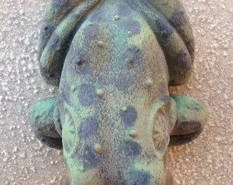 vintage Artline yard art turtle or frog