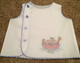 Diaper Shirt Baby Infant 7 - 18 lbs.
