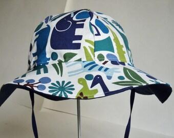 Baby Sun Hat - Baby Gift - Baby Boy Sun Hat - Toddler SunHat - Newborn Hat - Sunhat - Baby Summer Hat - Beach Hat- Baby Hat - Made To Order