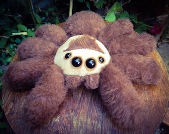 Bomber - handmade plush spider