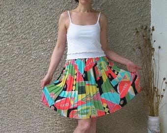 Vintage pleated skirt, size S-M