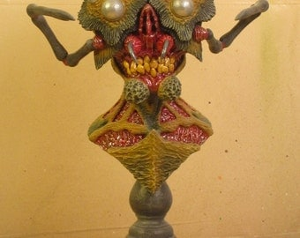 Arachnoid Small-Scale Polymer Clay Bust